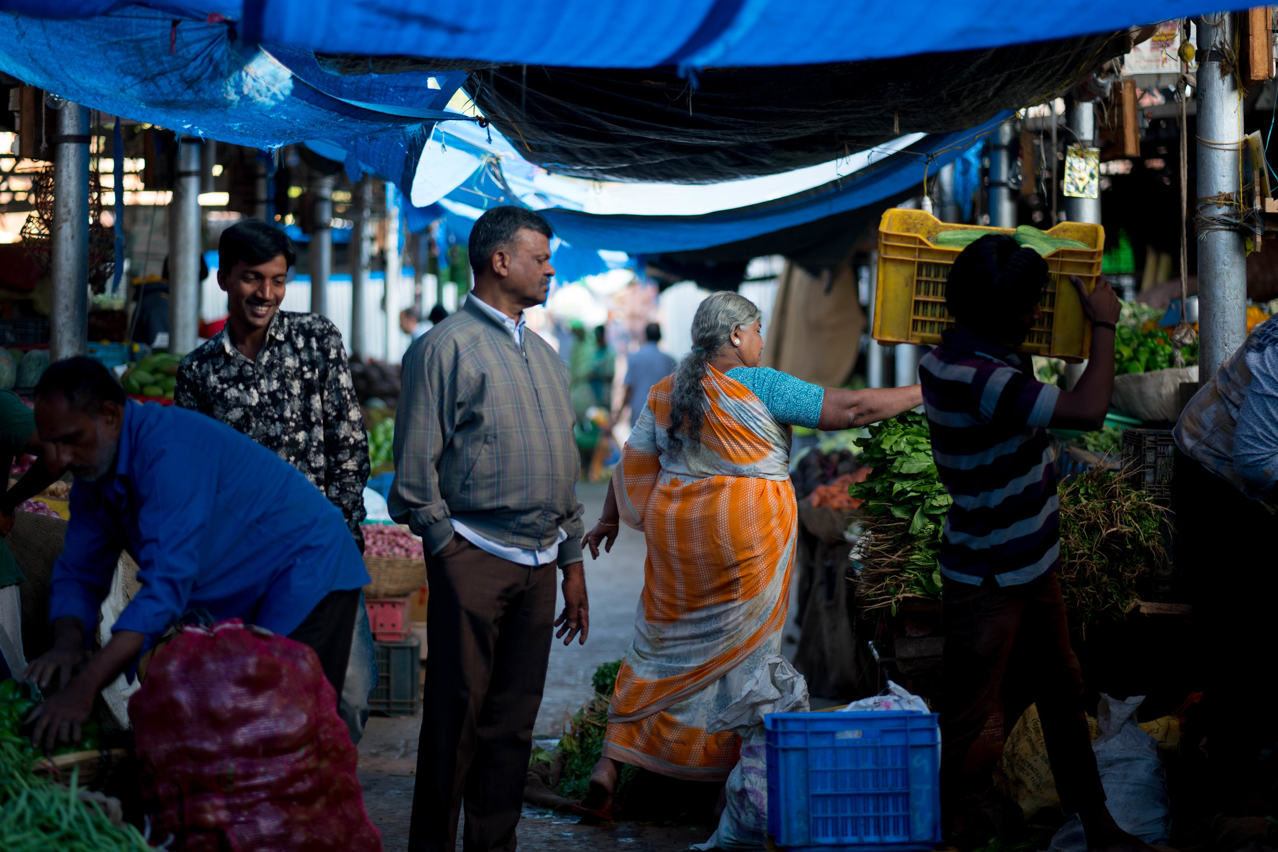 Morning Market, Mysore, India