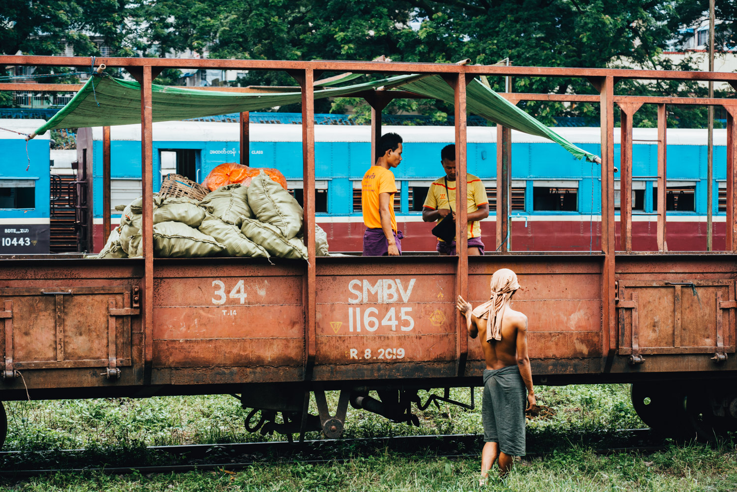 Yangon Circular Train, Myanmar