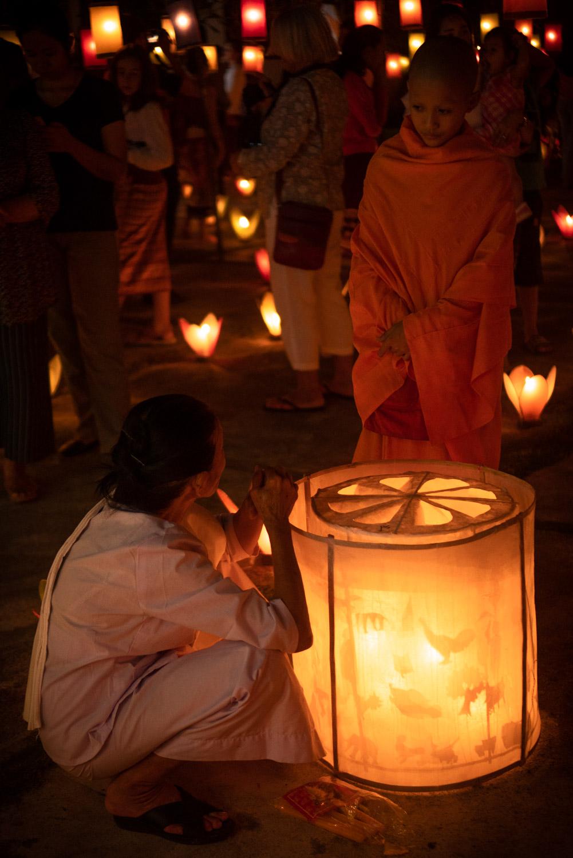 Bun Ok Pansa Festival, Laos