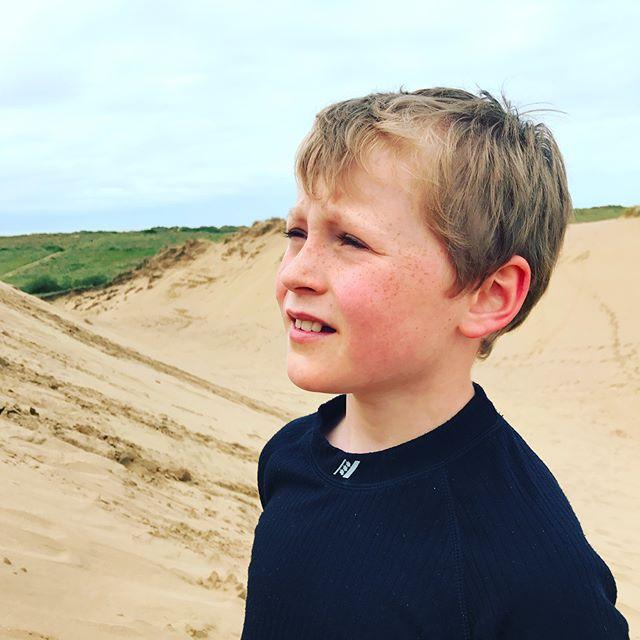 Surfing down sand dunes... fantastic!!