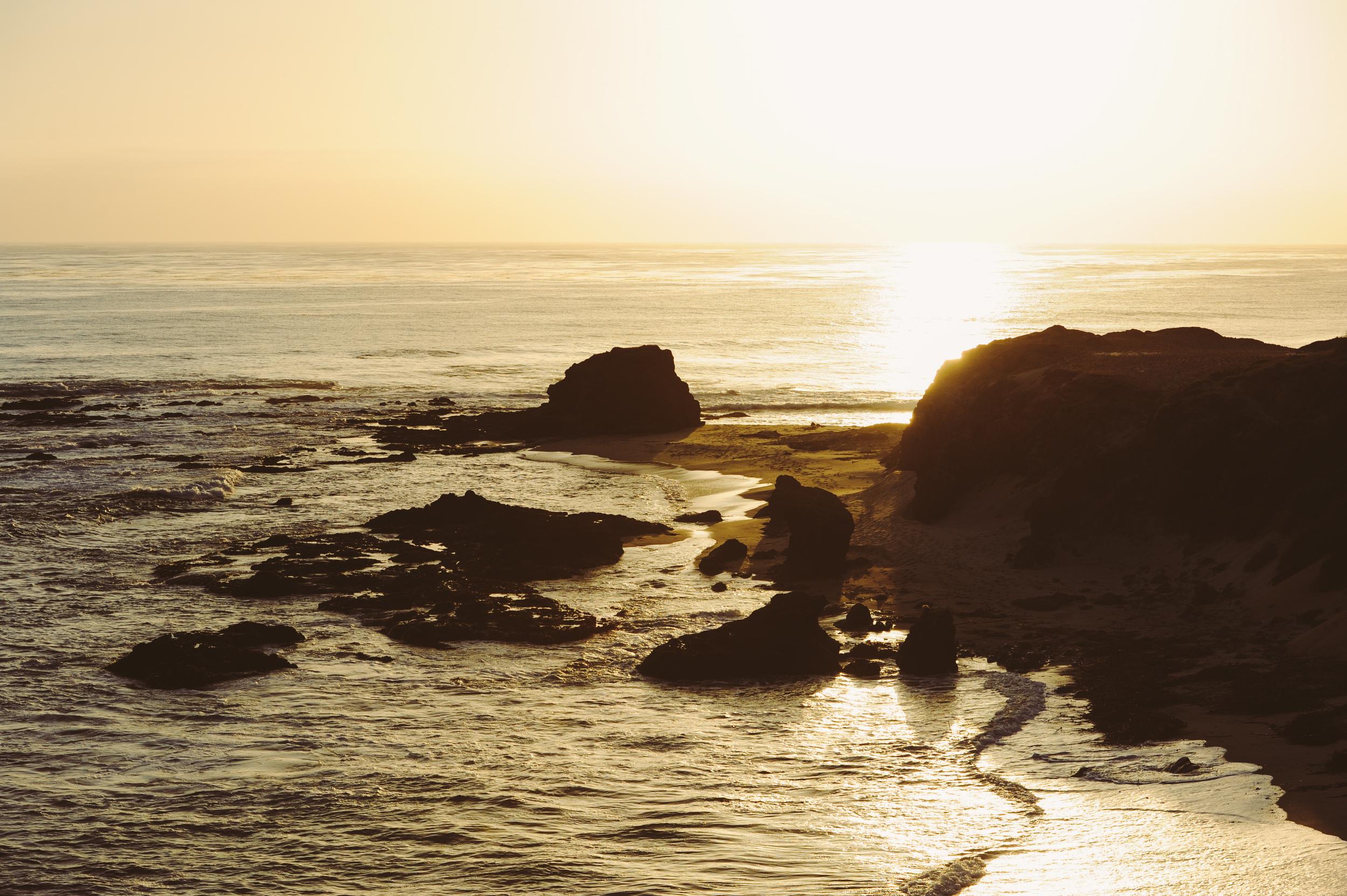 Sunsets + Big Sur = breathtaking