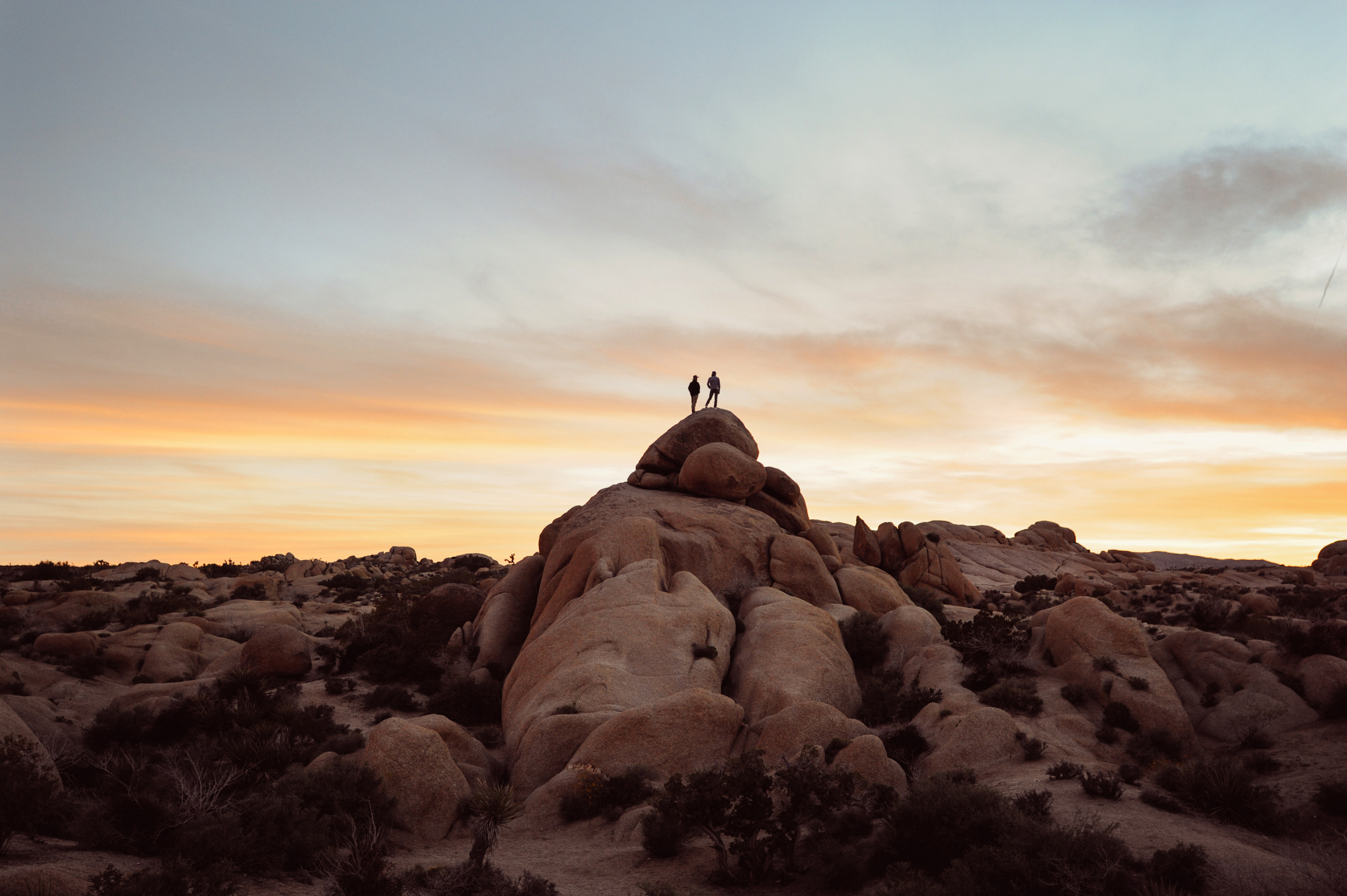Nothing quite like these giant boulders in Joshua Tree National Park.