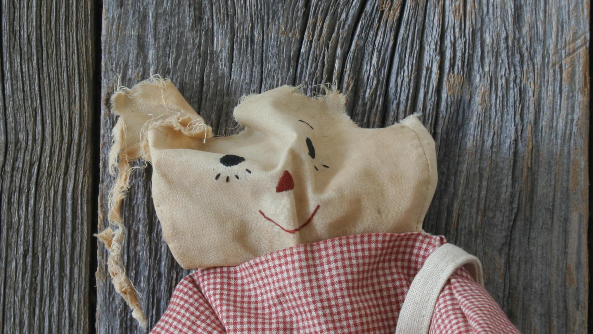 Raggedy Ann Face - needing repair