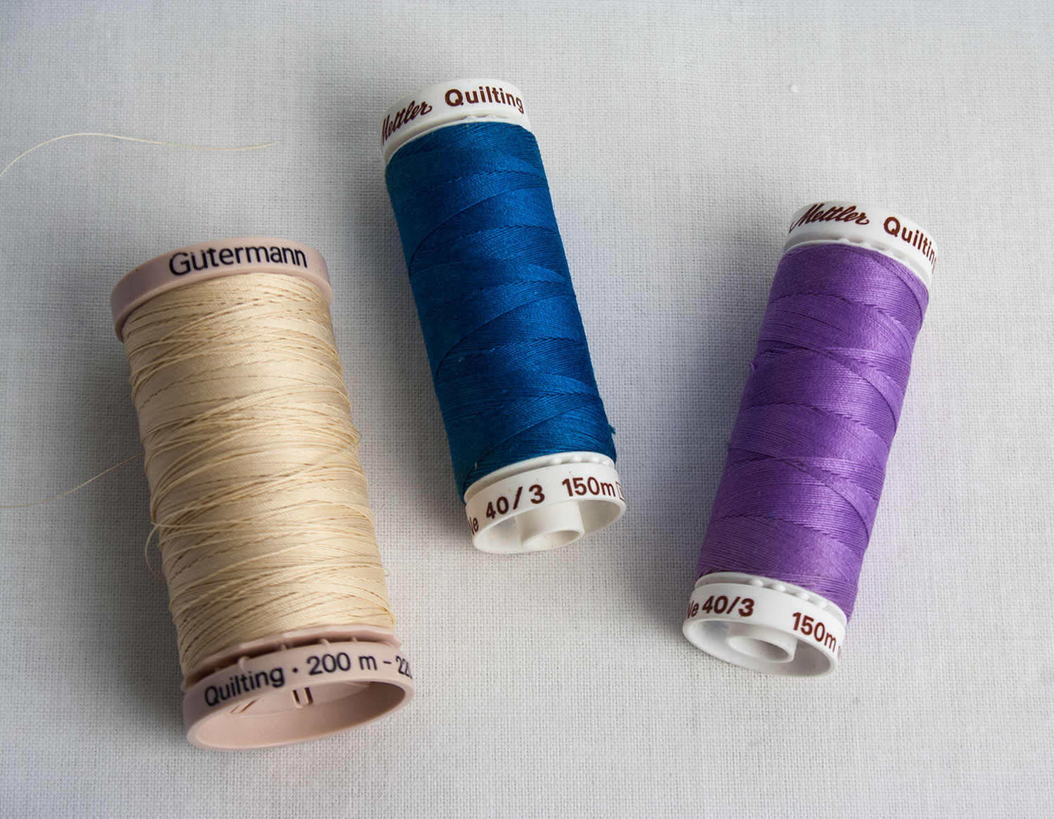HAND-QUILTING THREADS