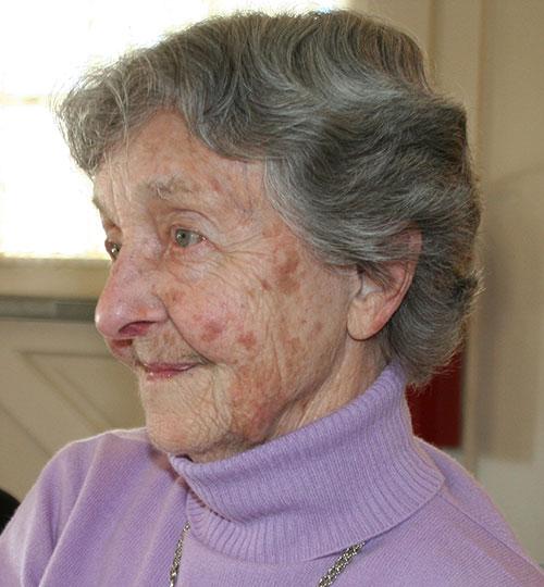 my mom, age 90