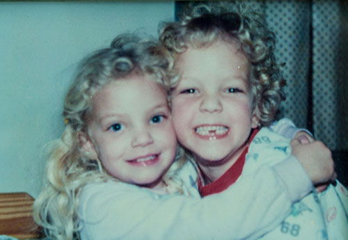 laura and montana, about 28 years ago!