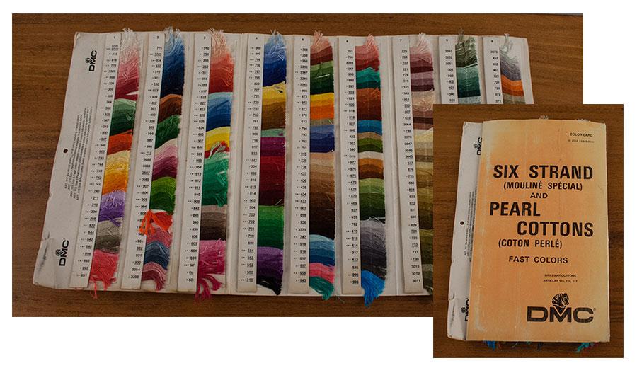 DMC Color Card