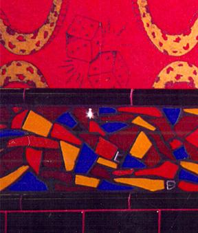 Mosaic Wall Border  The Sound Republic Night Club London England