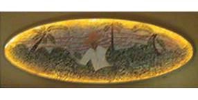 Tabacco Mural      Bongos Restaurant & Bar Miami FL.