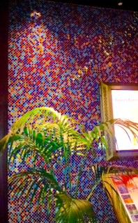 Mosaic Wall Accent Mohagan Sun Casino