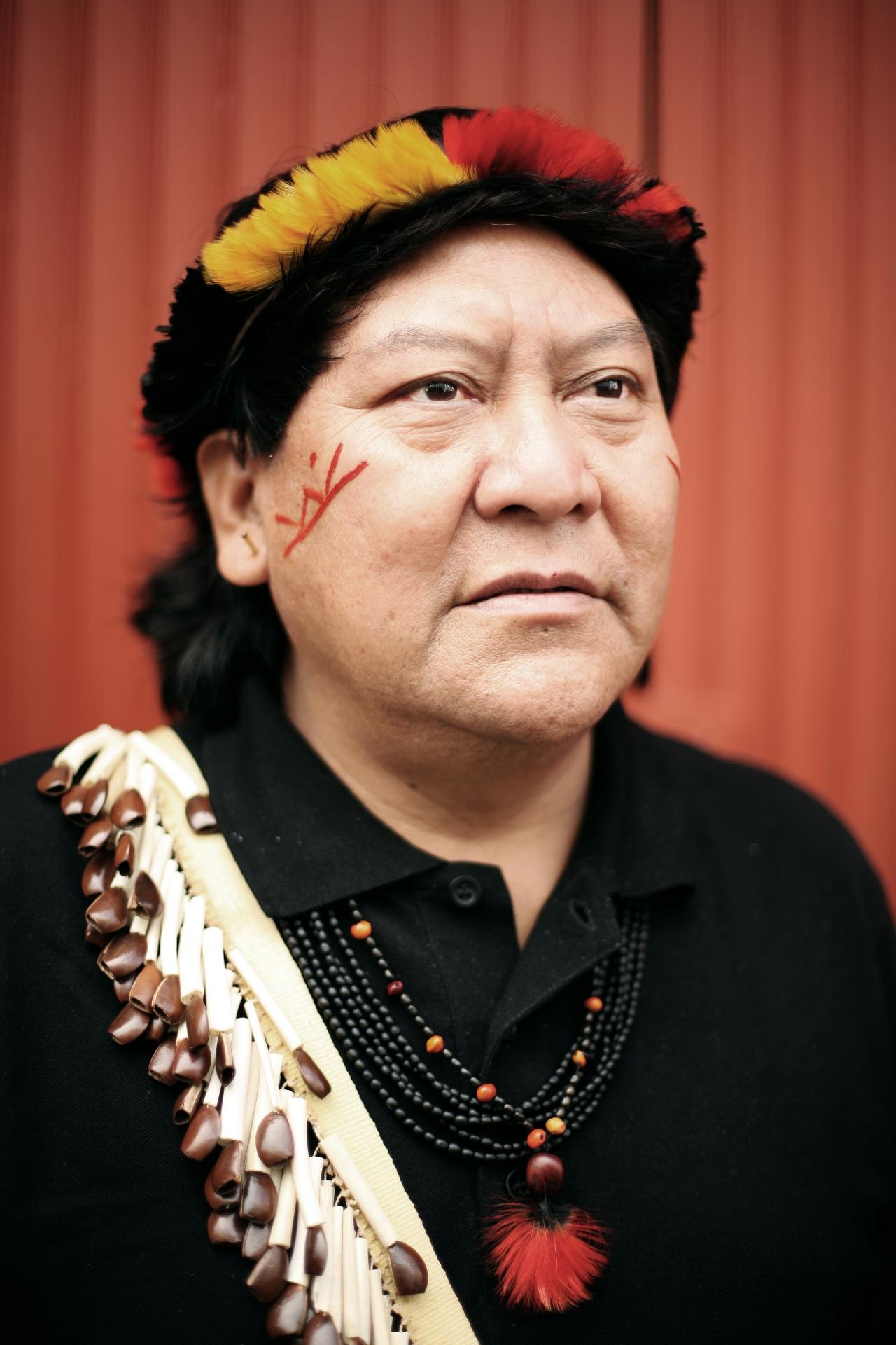 Davi Kopenawa Yanomami, writer and indigenous leader