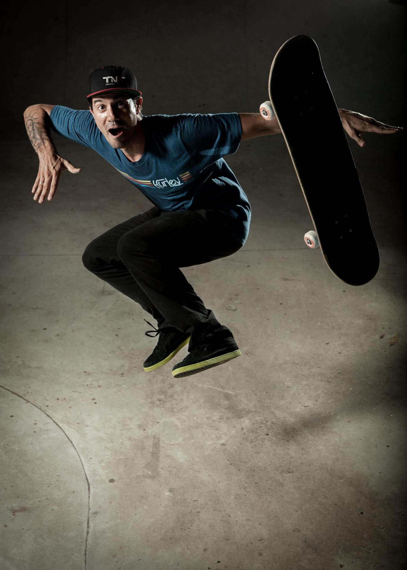 Bob Burnquist , skateboarder