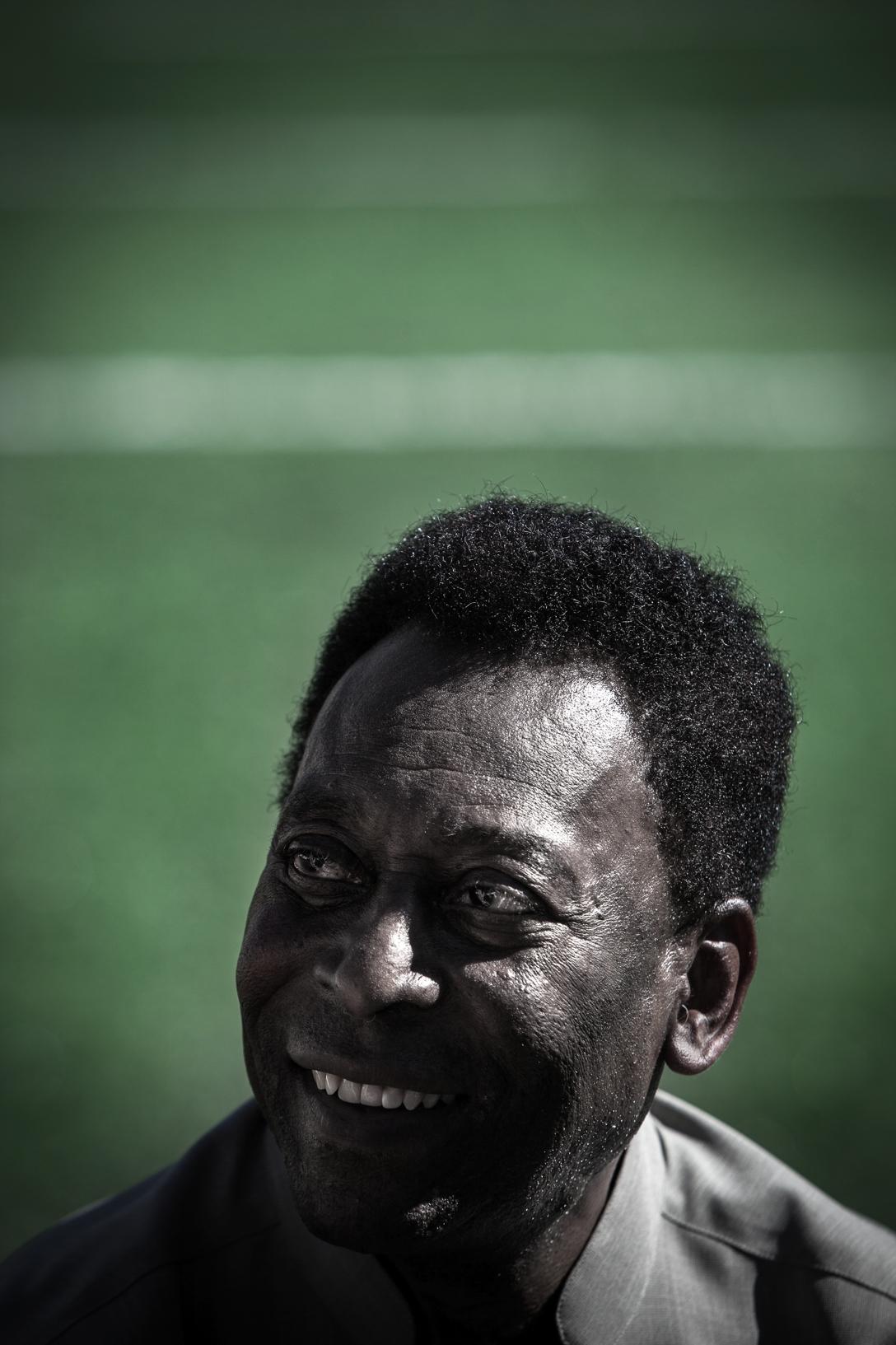 Pelé, king