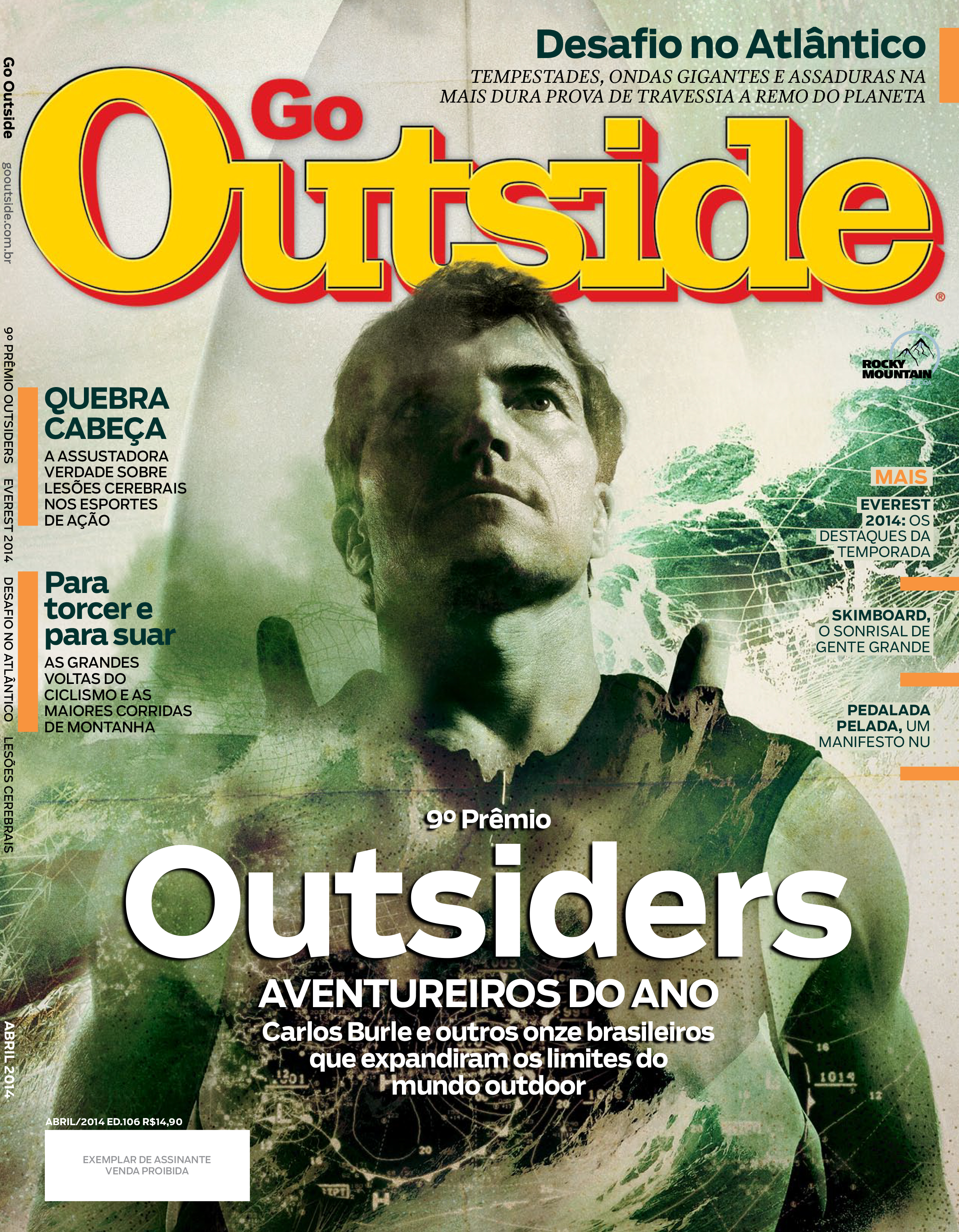 Cover for special edition of Go Outside magazine