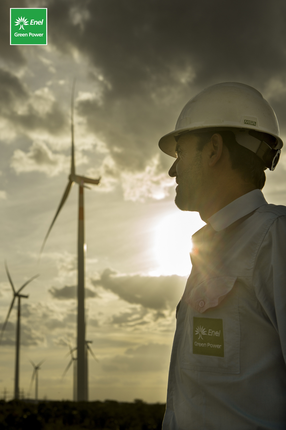 Series of photographs for Enel Green Power