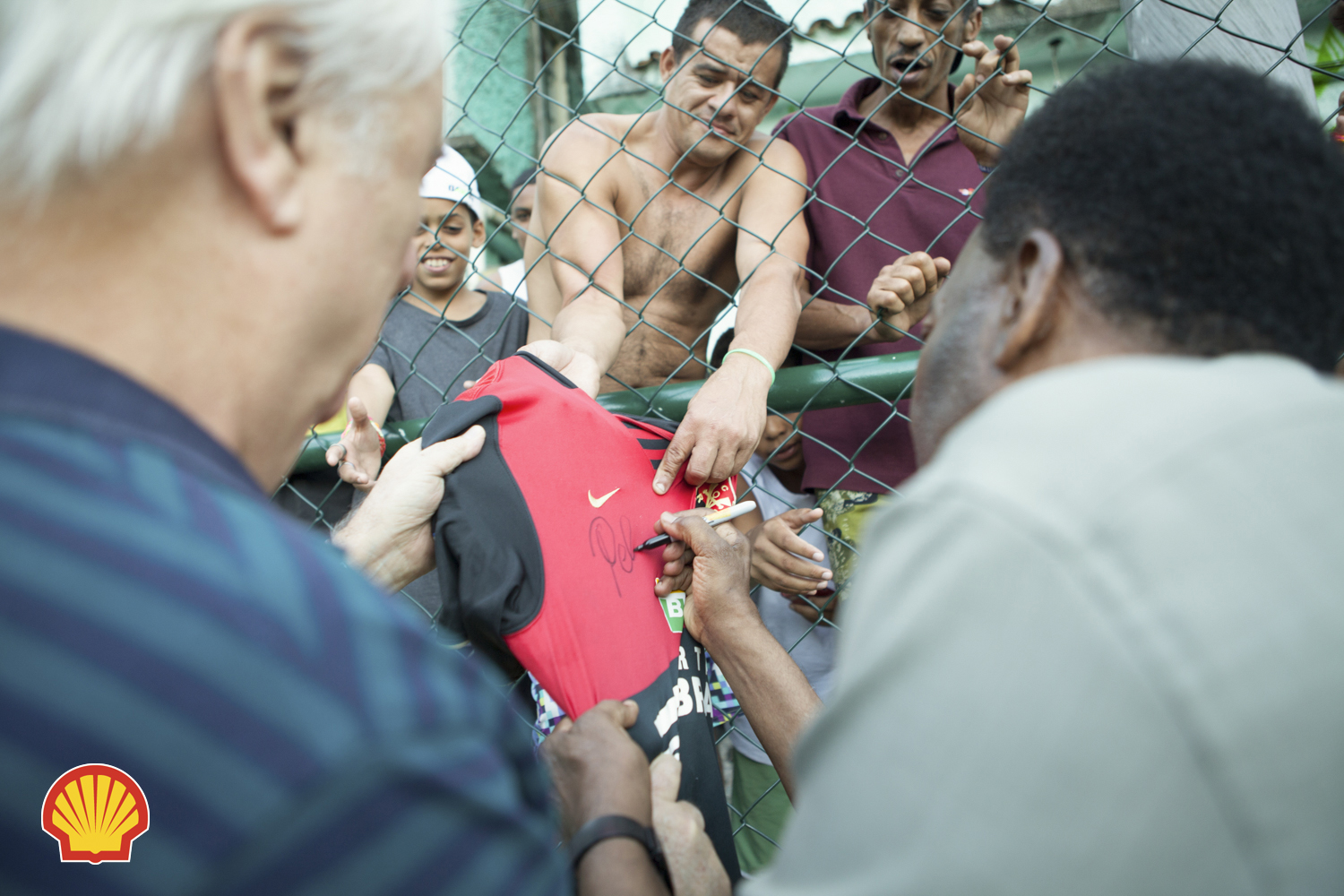 Series of photographs covering a new project from Shell at one of the most dangerous favelas in Rio de Janeiro, Brazil.