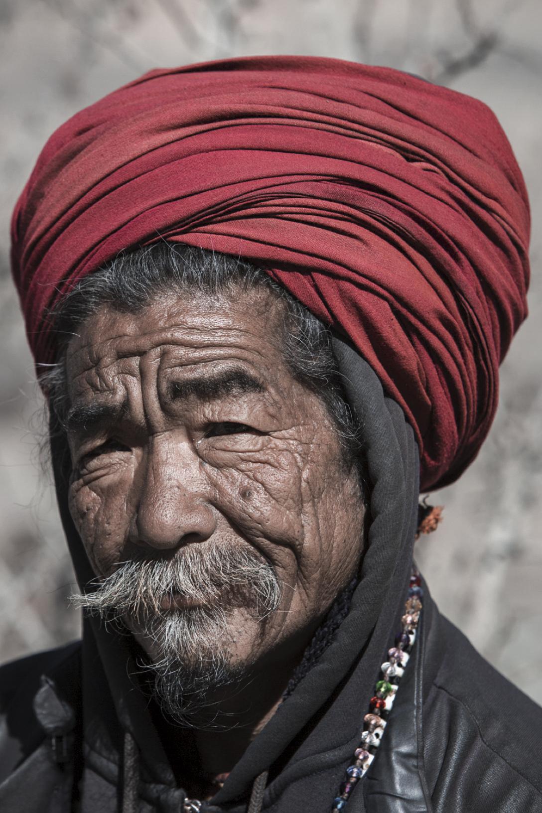 Sadhu in Muktinath, Nepal