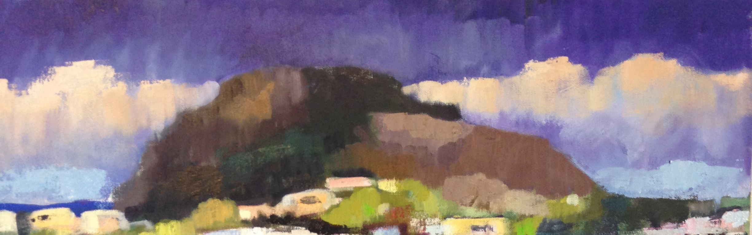detail from Teresita 4 (Mt Davidson); Miraloma Park Series