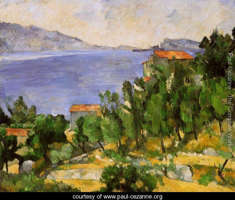 Paul Cezanne The Bay of L'Estaque
