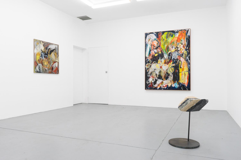Installation view, Boundary Behaviour, 2018. Irene Rose Gallery