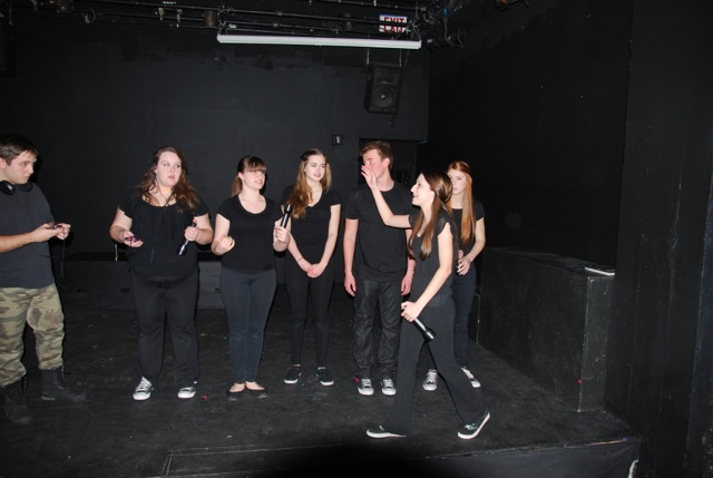 Young actors from The Playground Theatre Project perform BANG BANG YOU'RE DEAD by William Mastrosimone