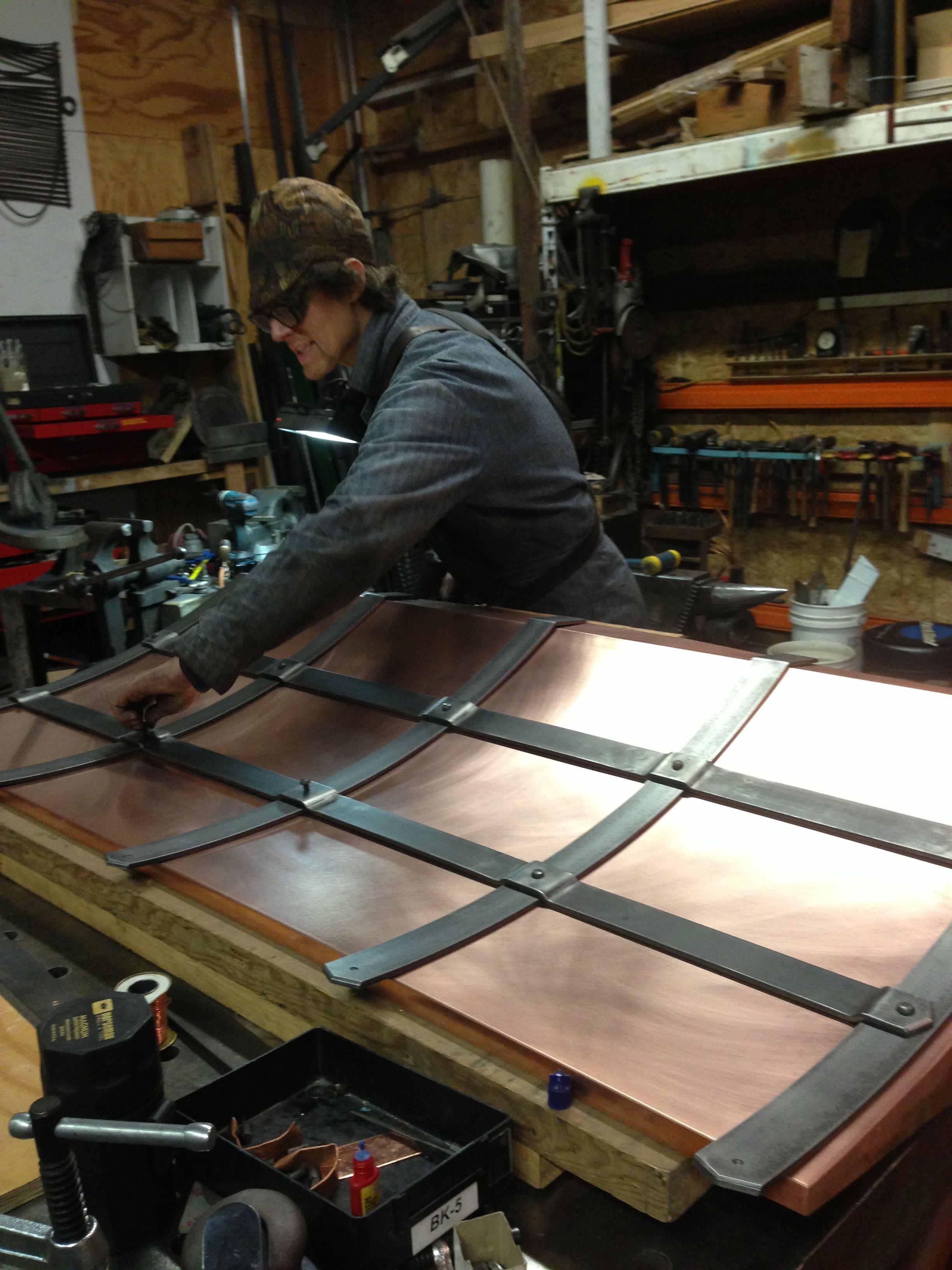 Copper Hood Work