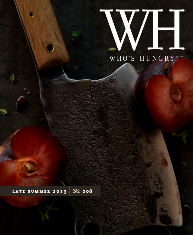 Who's Hungry Magazine (cover shot)