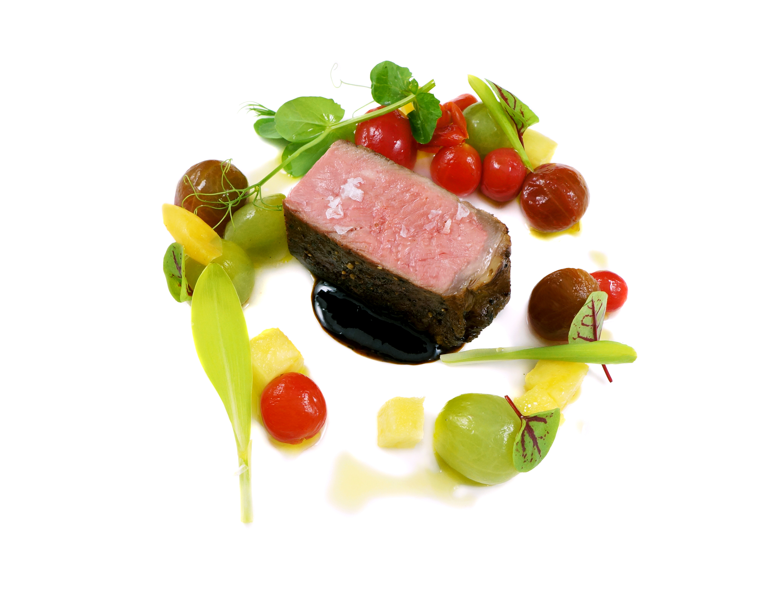 smoked strip steak