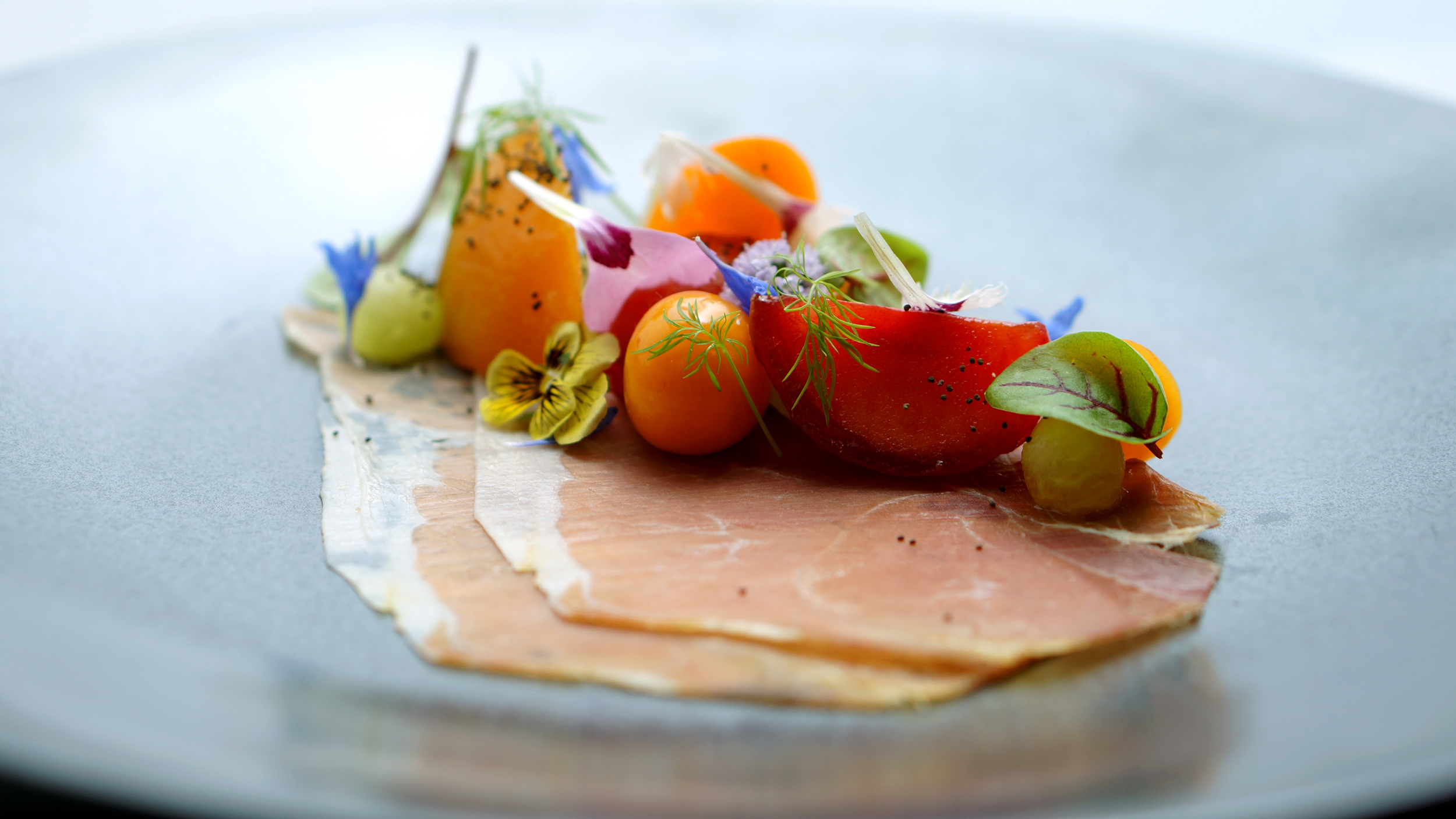 2014 - proscuitto, stonefruit, pichu, poppies.jpg