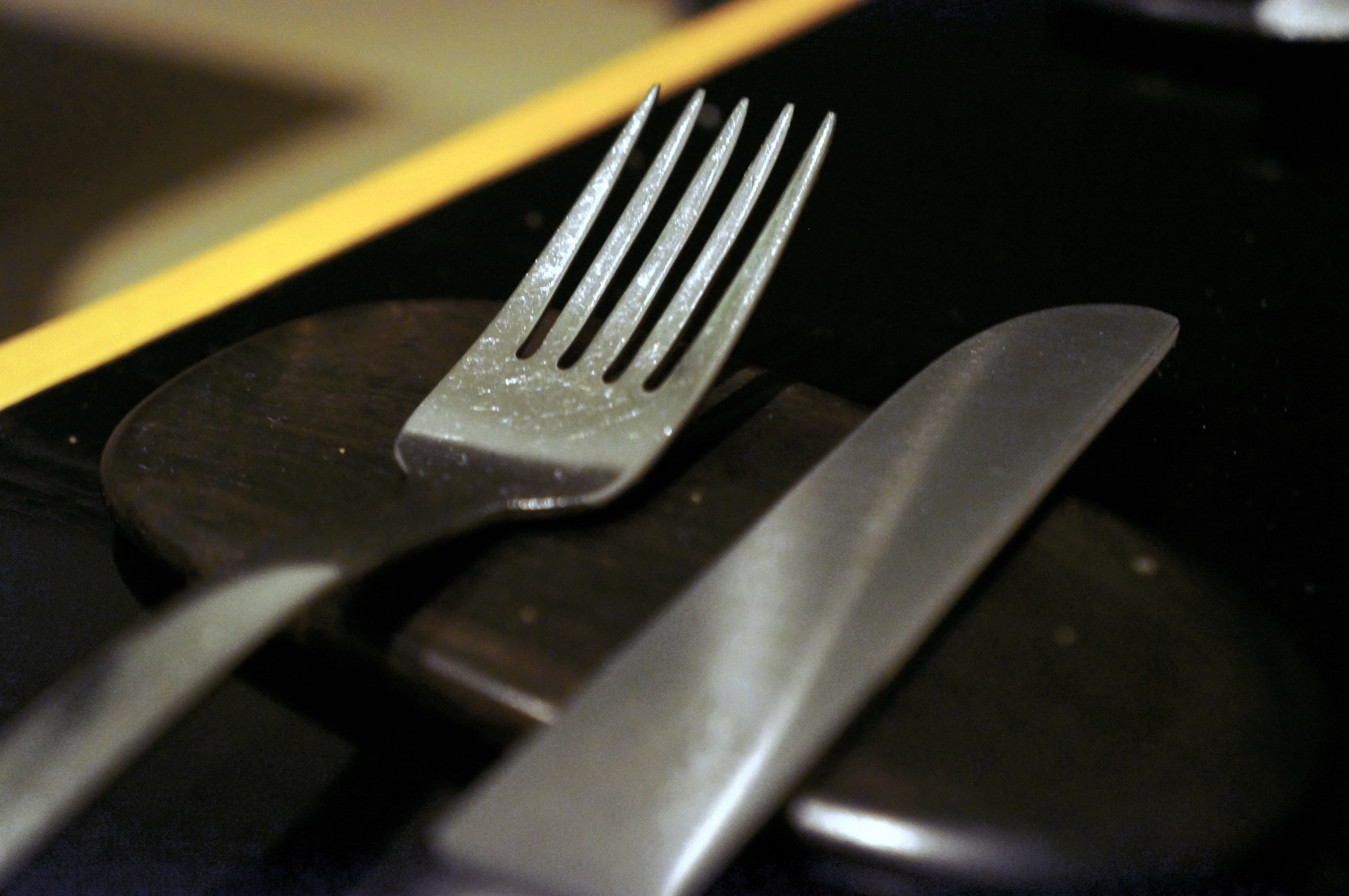 Love these 5-prong forks.