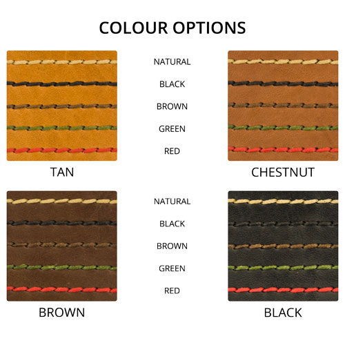 Leather Colour Options, Leather Color Options.