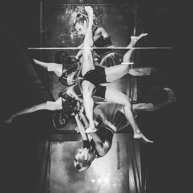 Performing in Flaunt! Choreography by Claire Marshall