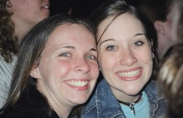 One of my best friends from college. One of the best times of my college days, the Yellowcard/Something Corporate concert at Longwood University. 2004.