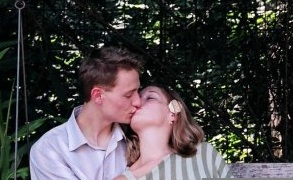 My only love. Summer, 2004. Engagement photos.