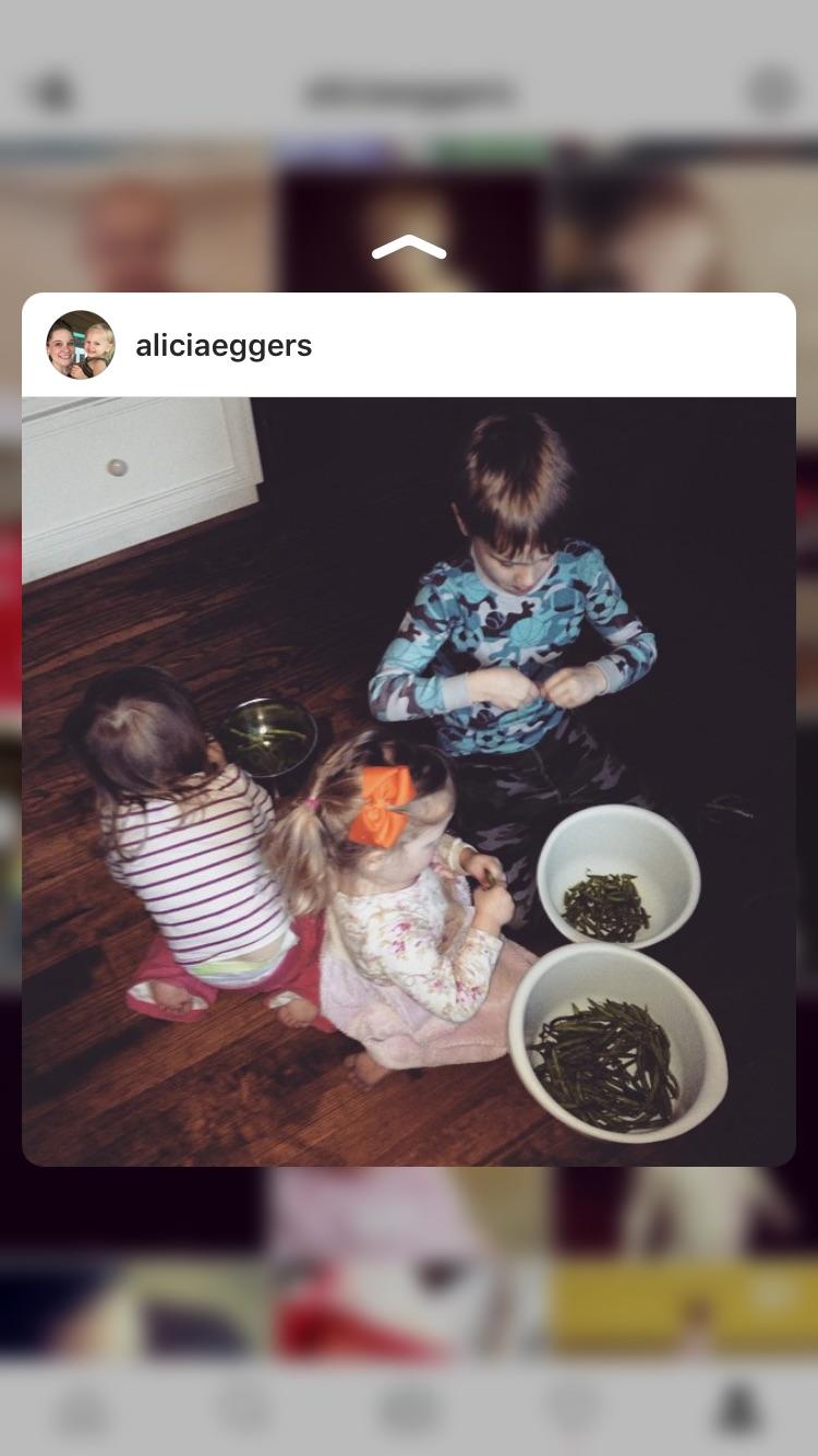 Homeschooling is preparing meals.
