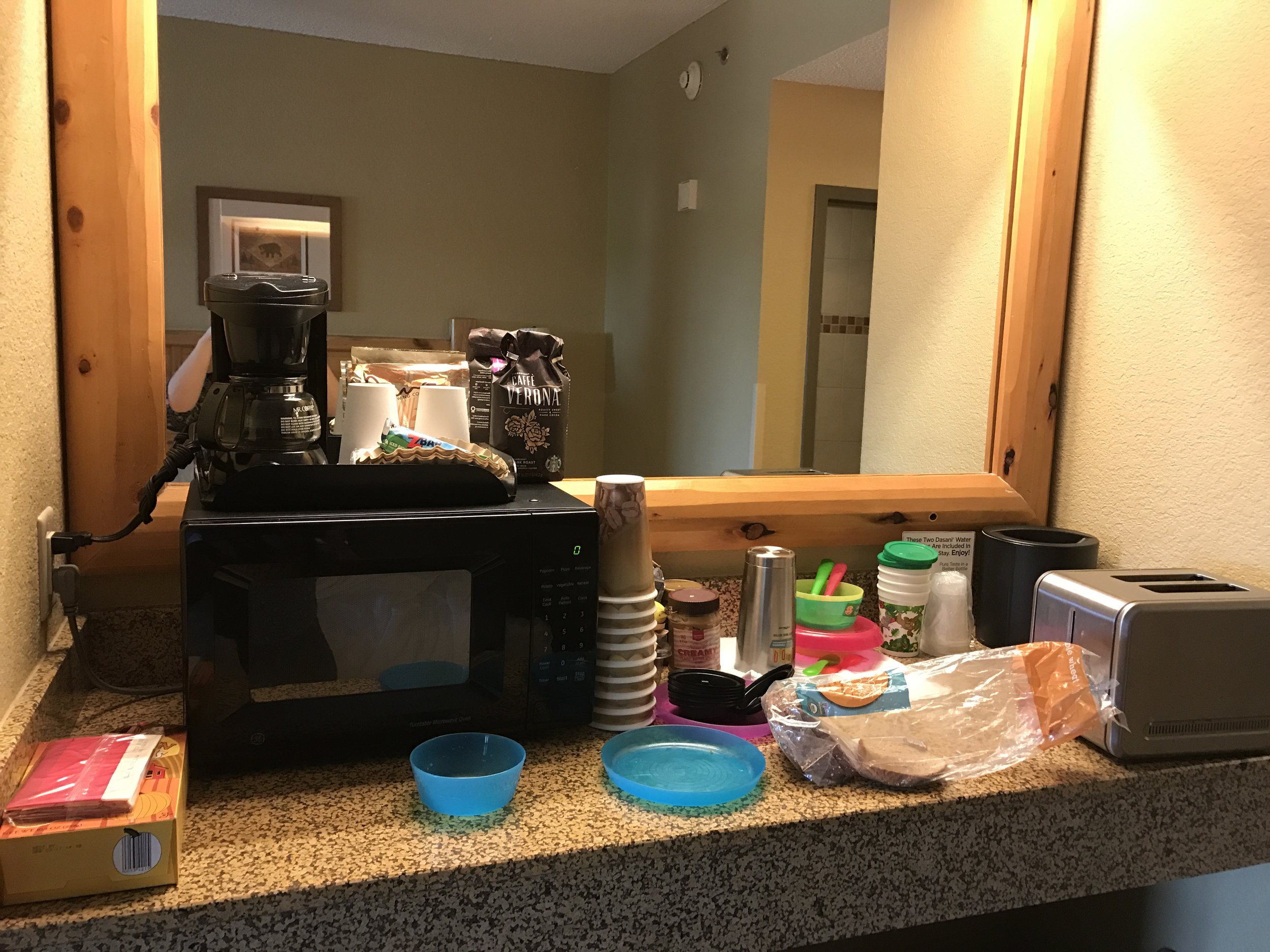 """""""Kitchen"""" in every room."""