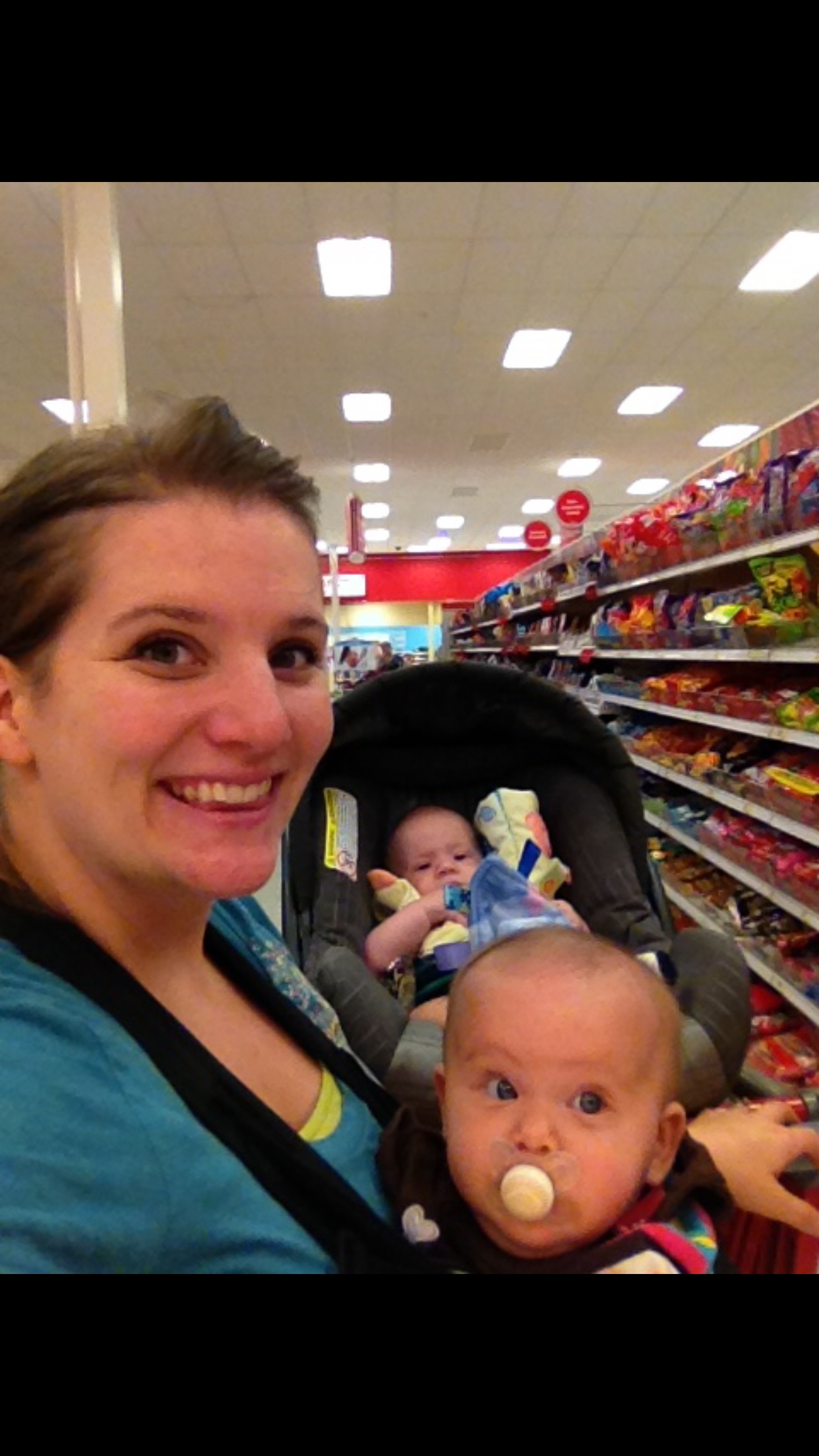Lots of trips to target with these two. The amount of times we've been to Target together could be it's own blog post.