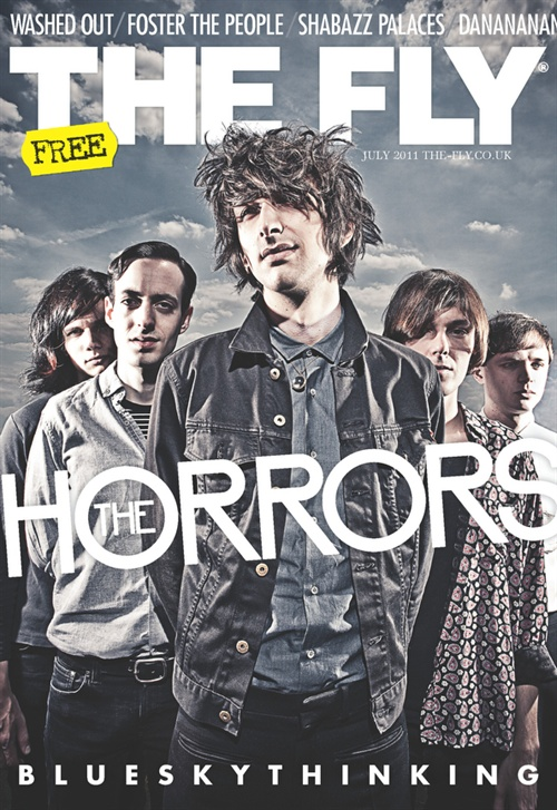 Love this. New Fly for July features The Horrors and their glorious return. Peruse it here . The shoot went wonderfully, great lighting from Vicky, rooftop location in Dalston, perfect weather for the tone I was seeking, you know, happy days. Hear Horrors here .