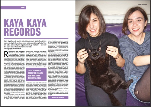 More about Volume Magazine here , follow Cherish Kaya here