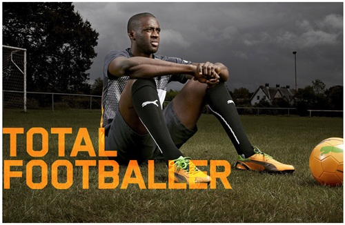 Having a fun time with the wonderful Puma at the moment, shooting location portraits of their boot-sporting players. Done a few and there's potential for a strong series in this look, I reckon anyway. Decent layout in Sport Magazine too.