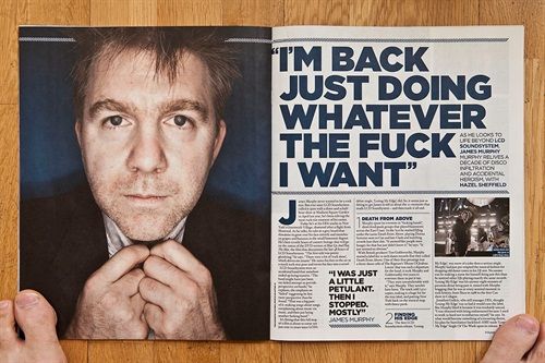 Nice full page in NME ooooooh. Shot for The Fly about 3 years ago I think.