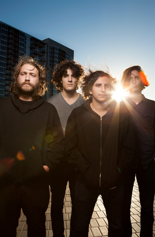 Chilean cosmic rockers at sunset. All hair and good vibes and sonic atmosphere . Good for when you're feeling wide.