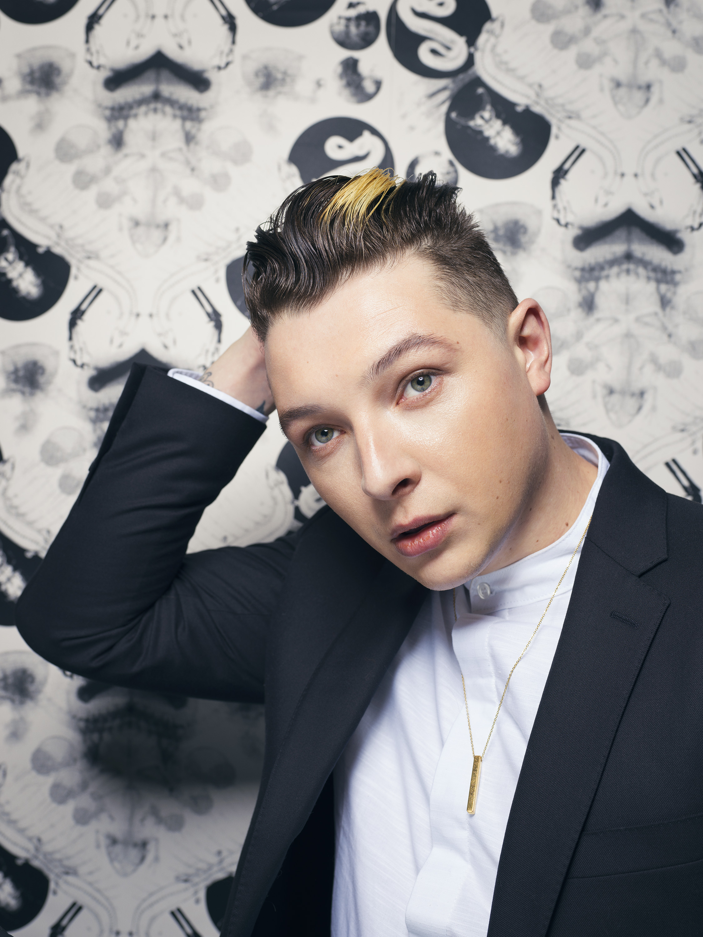 John Newman for Euphoria. The skin on the lad! Shot on a Hasselblad H6D-100c with a 100mm lens and some gorgeous lighting from James Hole, all blemishes should be hyper visible but oh no. He had some grooming from Madeleine Feeney and a grading by Ryan Tehee which is fair enough but hot dang the man has the skin of a new born. Is that weird? Hopefully not.