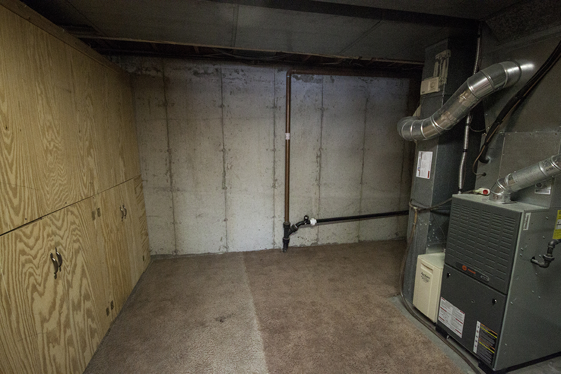 Heater room.