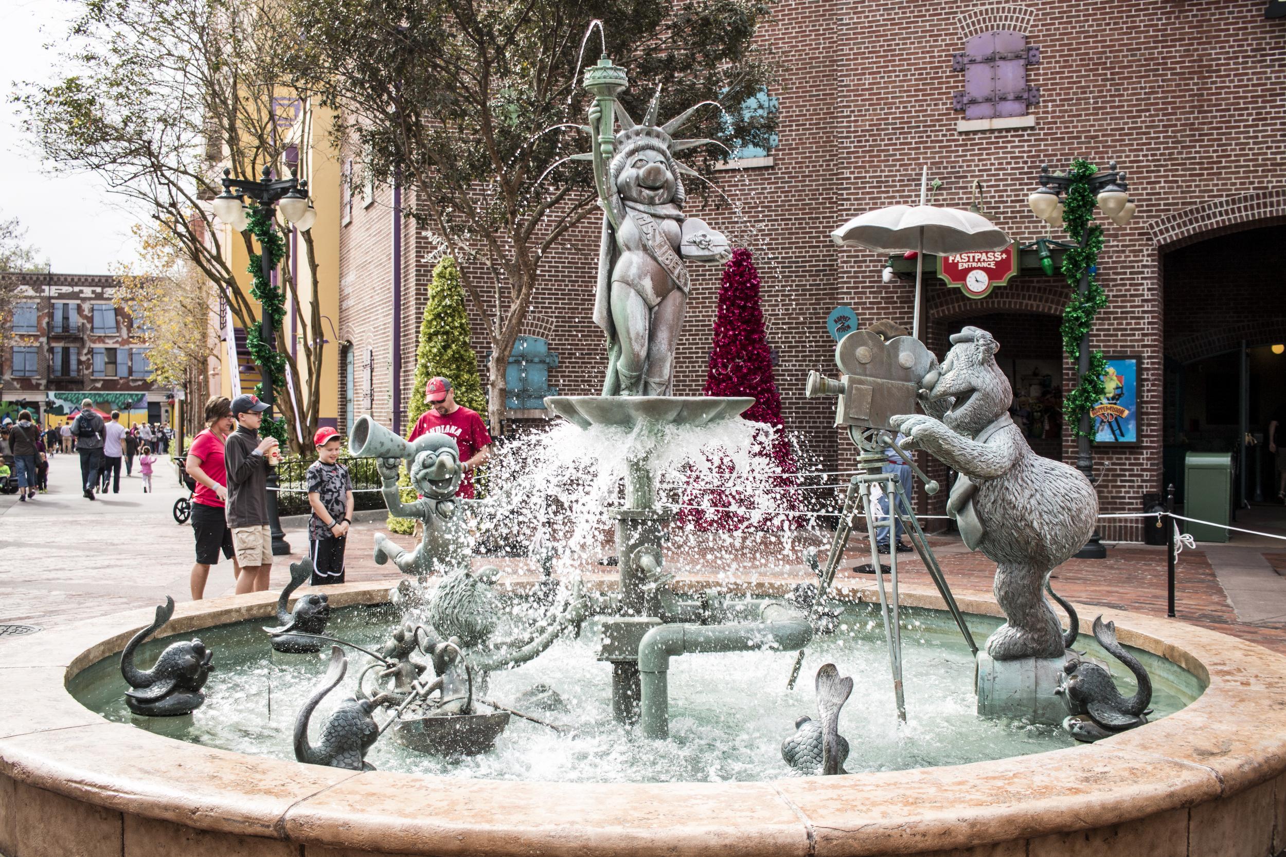 The best weird fountain.