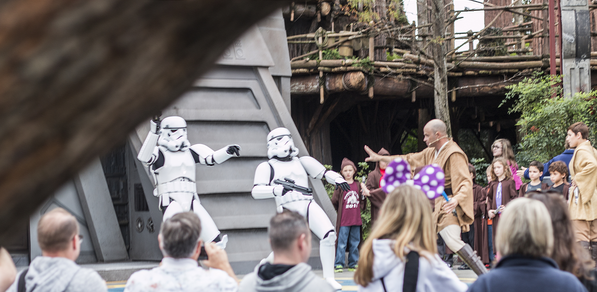 The stormtrooper actors were very good too; everybody looked like they were having a tremendous amount of fun.