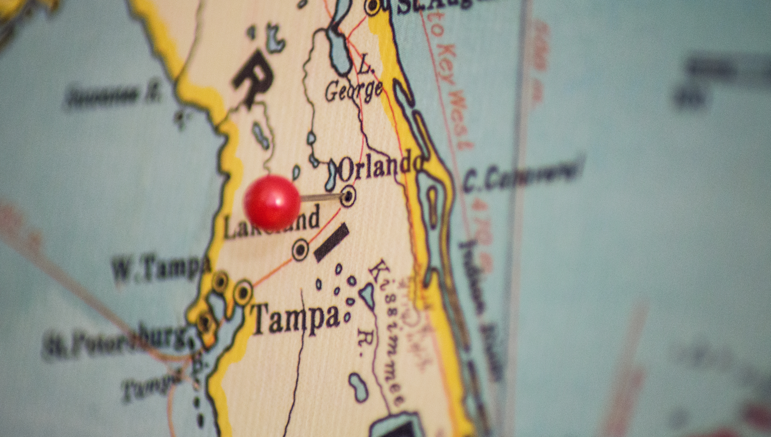 A new pin added to our map.