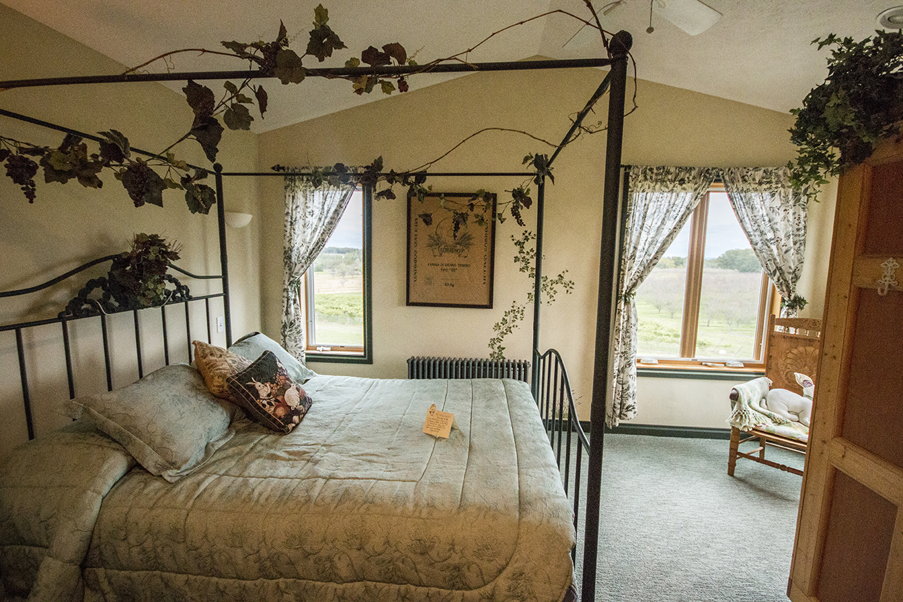 Our bedroom.