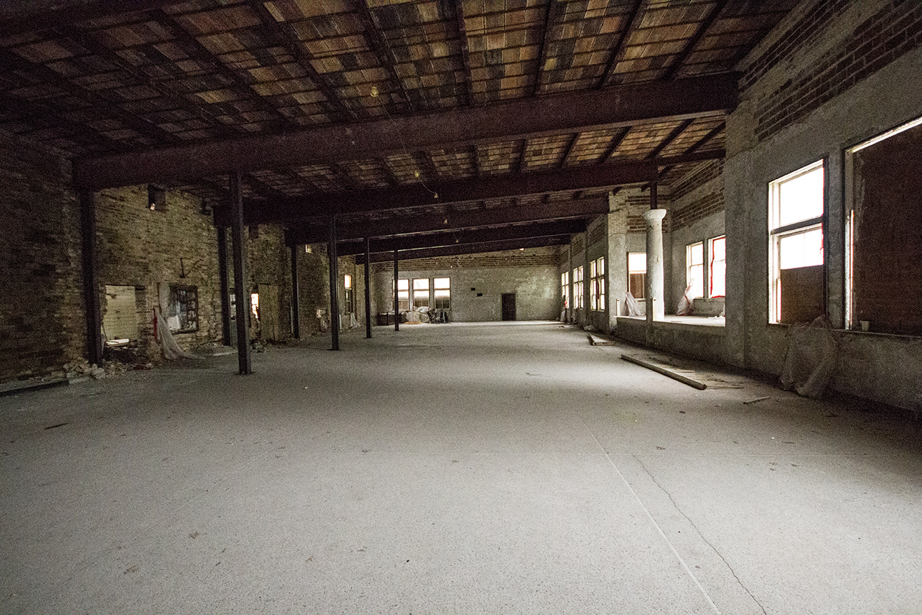 Areas that have been made non-toxic, but await renovation.