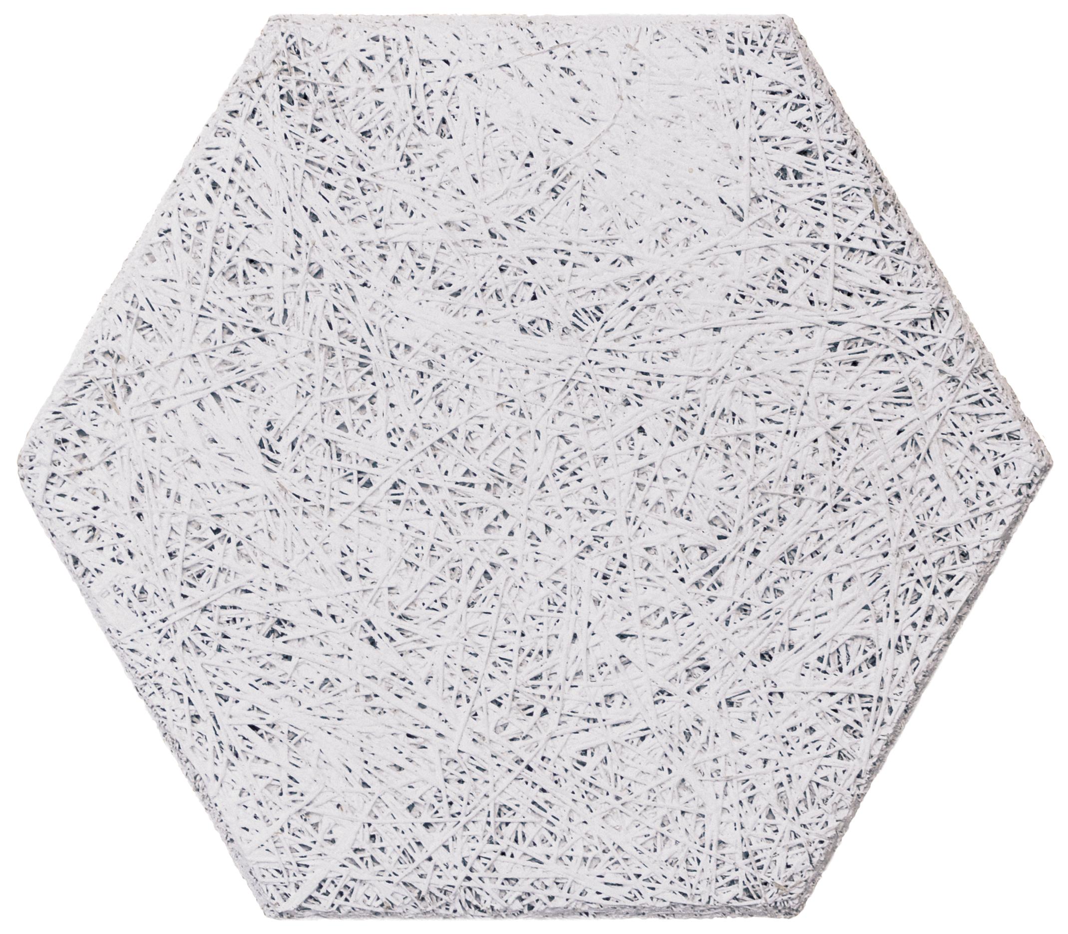White Hexagon